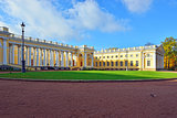 The Alexander palace in Pushkin,  Autumn landscape