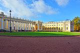 The Alexander palace in Pushkin,  Autumn landscape