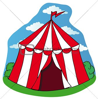 Little circus tent