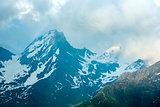 Evening mountain landscape (Timmelsjoch, Austria )