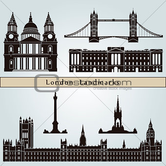 London landmarks and monuments