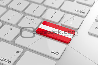 Austrian flag button