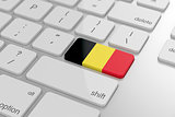 Belgian flag button