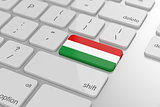 Hungarian flag button