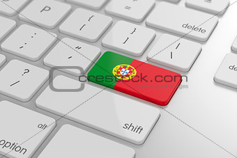 Portuguese flag button