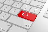 Turkish flag button