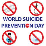 Symbols against suicide