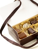 gift box of chocolate candies