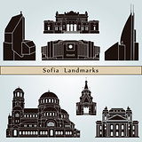 Sofia landmarks and monuments