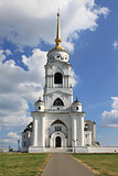 The bell tower in Vladimir