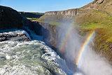 Gullfoss waterfall, Iceland.