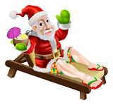 Summer Christmas Santa