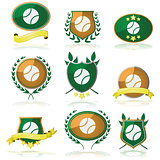Tennis badges