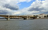 Bridge over Danube in Budapest