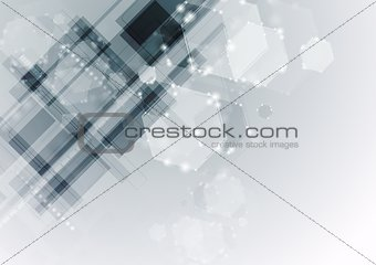 Modern vector hi-tech backdrop template