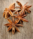 Anise Stars,Close Up