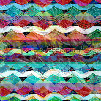 abstract background with stripes waves