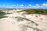 sand dunes by Zandvoort aan Zee