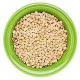 bowl of soybeans