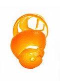 Peel of an orange