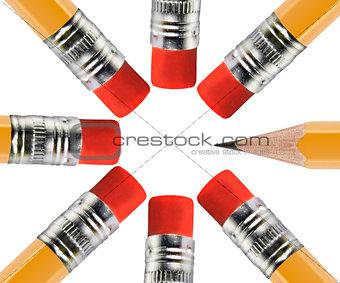close up pencil