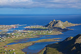 Fishing port on Lofoten