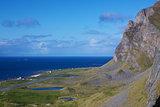 Norwegian coastal cliffs