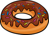 donut clip art cartoon illustration