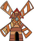 windmill clip art cartoon illustration