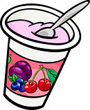 yogurt clip art cartoon illustration