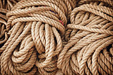 Thick strong rope on the open market