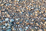 river pebbles background