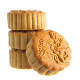 Isolated mooncakes