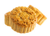 Isolated moon cakes