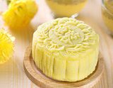 Lotus paste snow skin mooncake