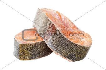 fresh trout steaks