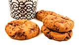 Cookie with cooffe