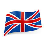 State flag of Great Britain.