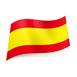 State flag of Spain.