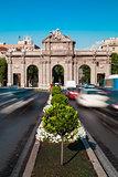 Rush Hour in Alcala Gate, Madrid