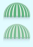 round awnings
