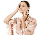 skincare woman