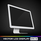 Vector LCD Display Icon