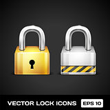 Vector Lock Icons