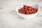 goji berries in bowl