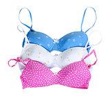 three colored bra