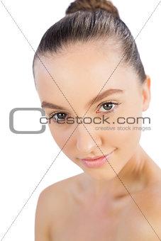 Bright model posing