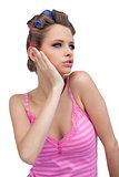 Thinking model posing