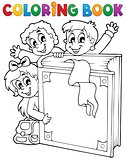 Coloring book kids theme 3