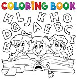 Coloring book kids theme 5